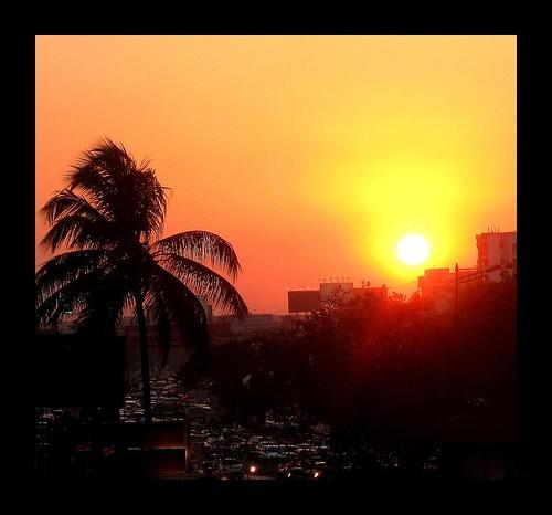 sunset india bombay mumbai trafficjam mywinners goldstaraward rubyphotographer ट्रैफिकजाम