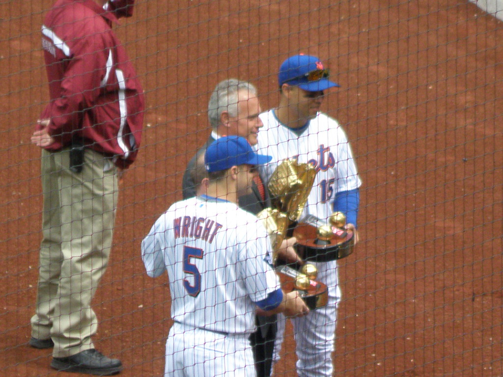 Golden Glovers David Wright And Carlos Beltran