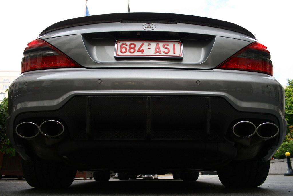 Mercedes-Benz SL 63 AMG R230. | Fat ass! | Daem Tom | Flickr