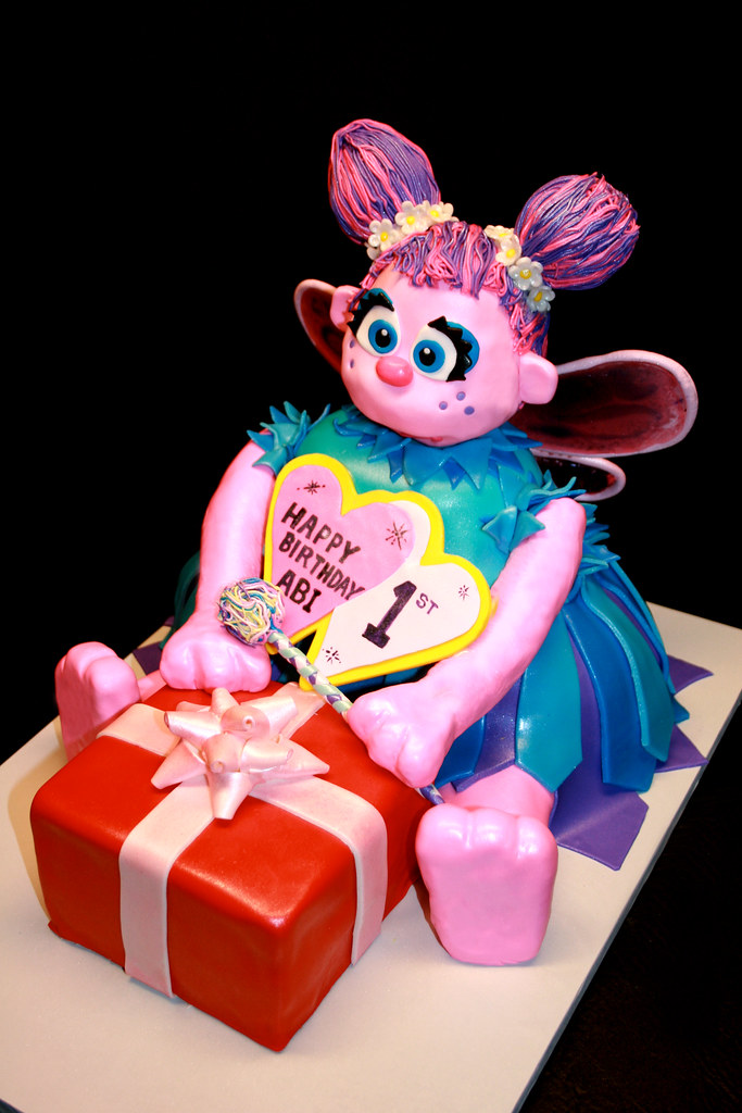 Abby Cadabby 1st Birthday Cake Vanilla Cake Vanilla Butte