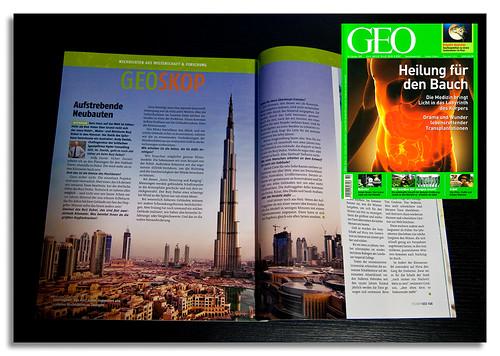 GEO Magazine, German edition, October issue   by DanielKHC