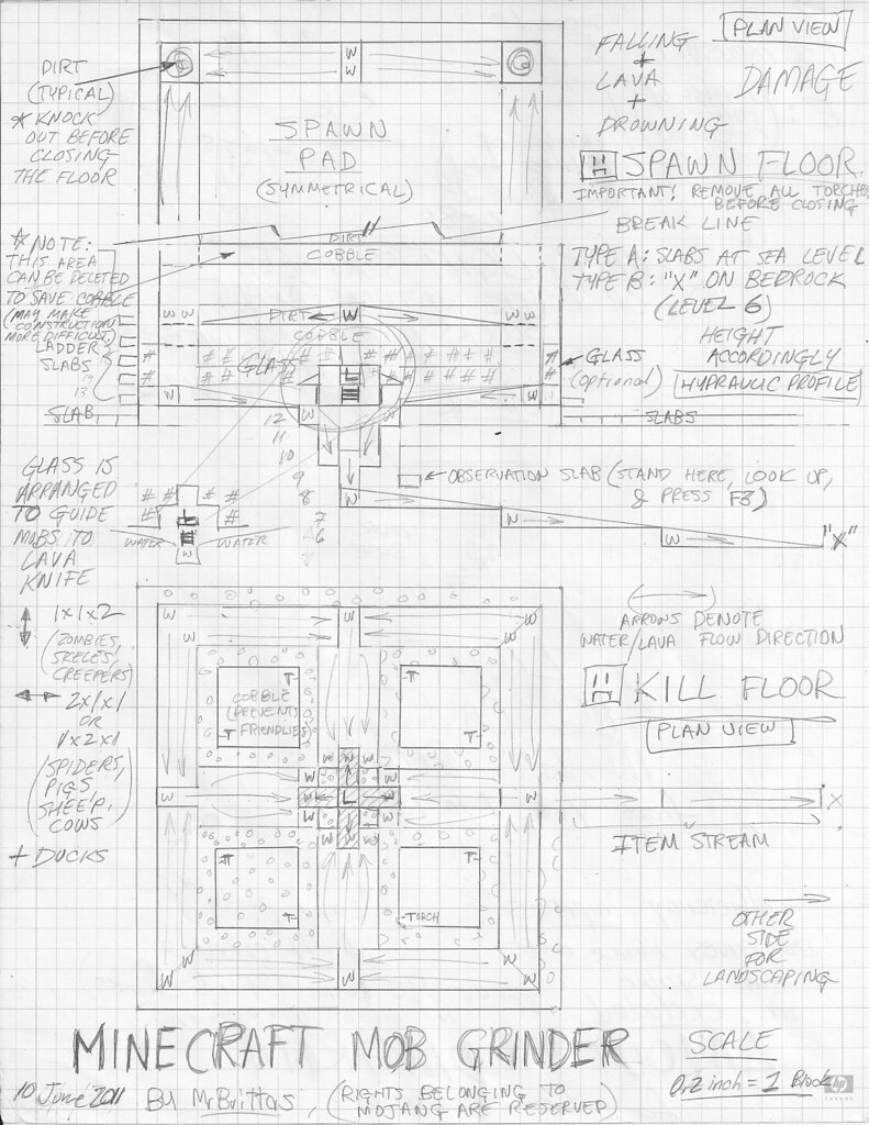 mob grinder schematic
