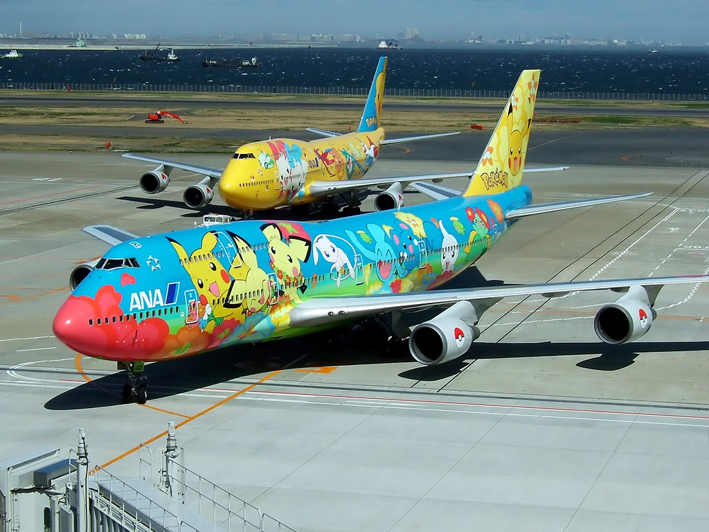 Pokemon Jet (Ohana Jumbo & Pikachu Jumbo)