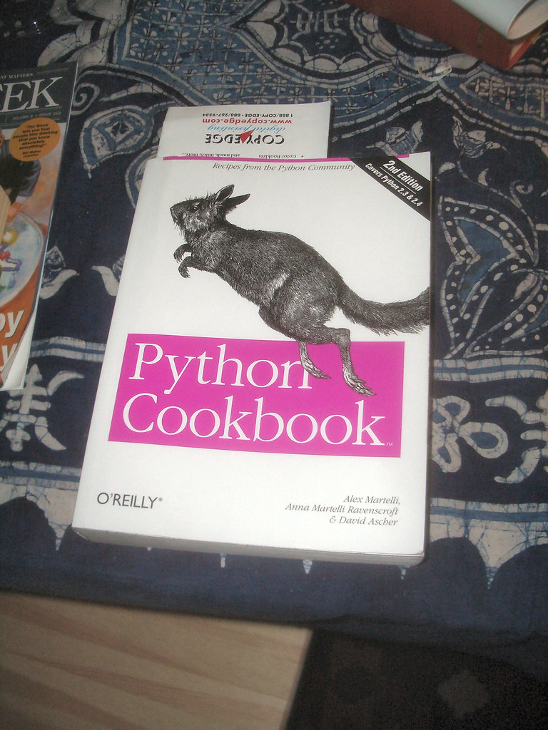 Python cookbook 2nd edition