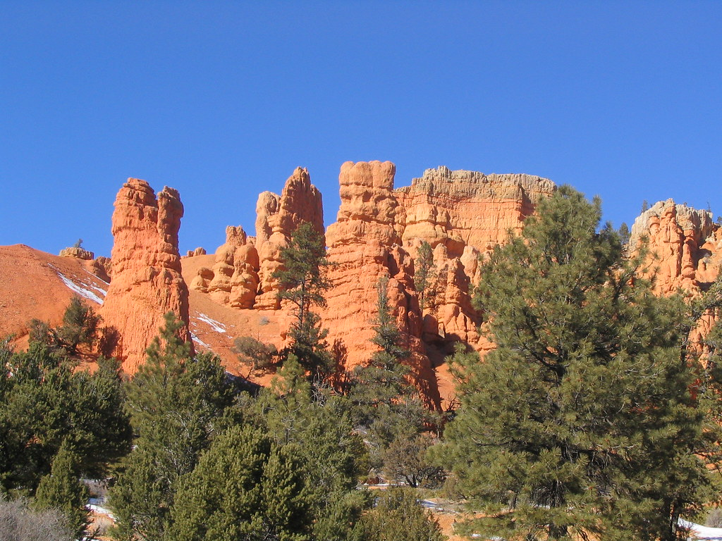 Red Canyon, Near Bryce Canyon National Park, Utah | Red Cany