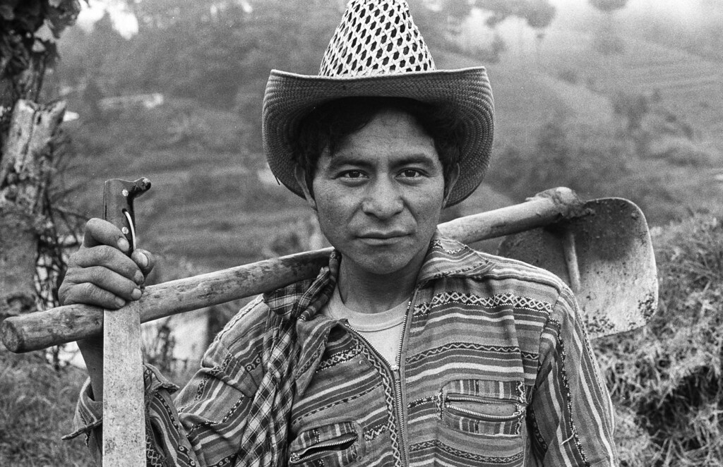 Campesino, Guatemala, 1982 | Marcelo Montecino | Flickr