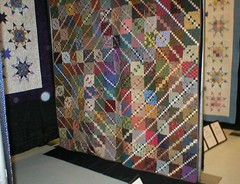 my Timeless Treasures quilts at the Mayfest show | by Mellicious