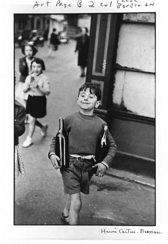 Rue Mouffetard (by Henri Cartier-Bresson)