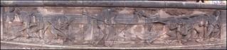 menschen am fluß II --- relief an der albertbrücke in dresden | by derbaum