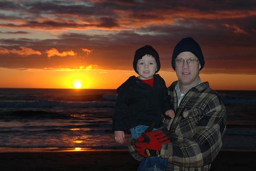 ocean city boy sunset portrait favorite beach nature water kids oregon joseph kid sand nikon dad view pacific northwest d70 aldous joey son joe lincoln personalfavorite favorited dela7