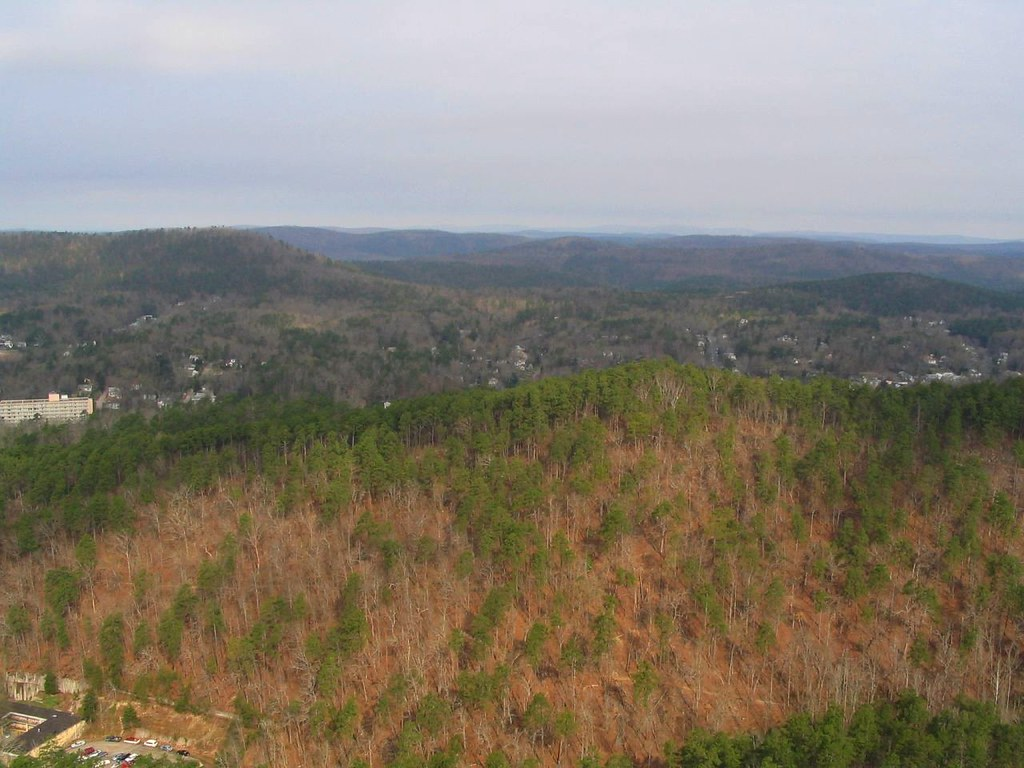 View of Ouachita Mountains from Hot Springs Mountain Tower… | Flickr