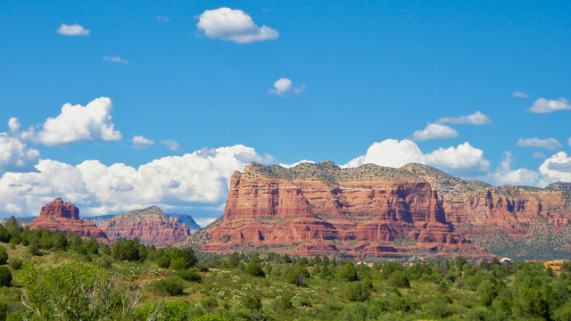 Entering Red Rock Country, Arizona - Buttes