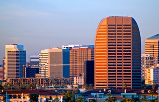 Downtown Phoenix skyline | by gwilmore