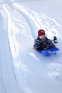 day 587: sledding!  outtake. | by snowdeal