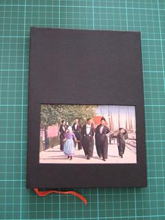 Capa do caderno de viagem/ Travels notebook cover