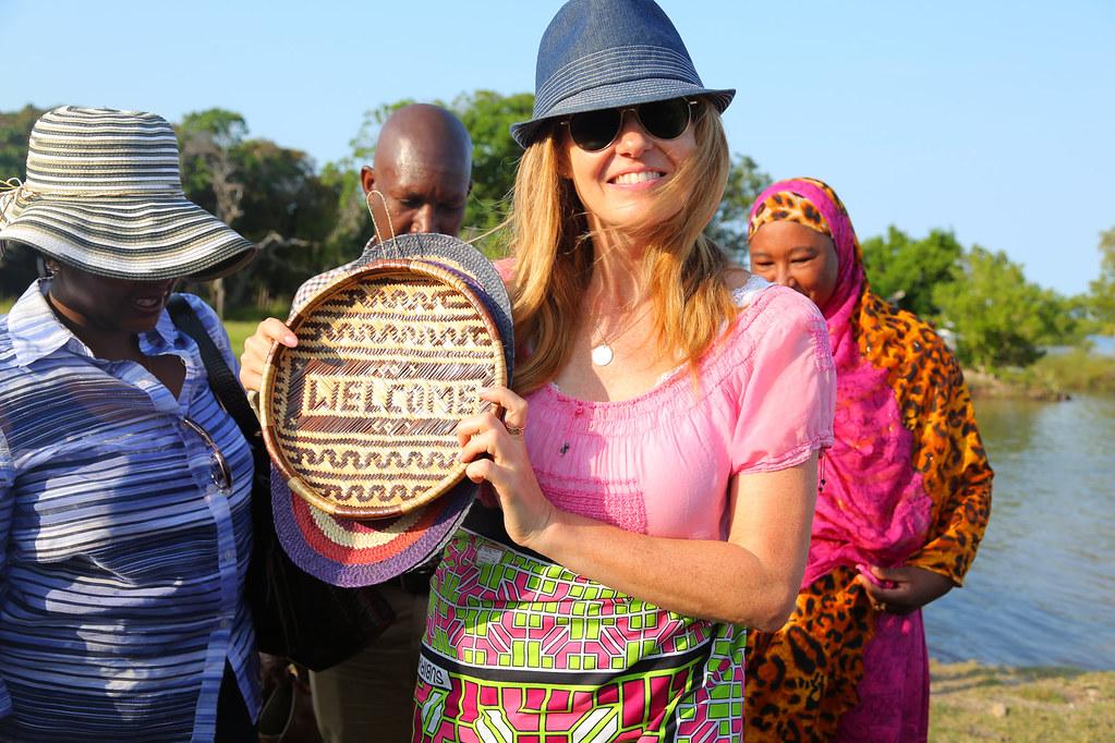 Connie Britton visit to Kenya and Rwanda
