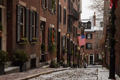 Acorn Street, Boston MA | by Guilherme Nicholas