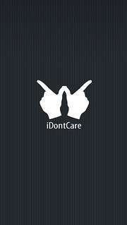 I Dont Care Funny Quotes Iphone Android Mobile Wallpaper Flickr