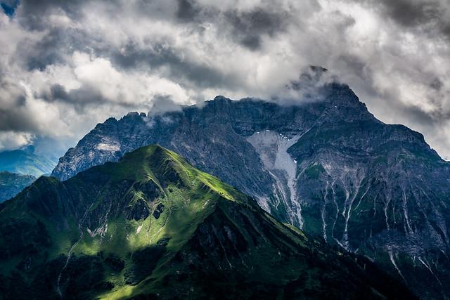 Kleinwalsertal, Österreich / Austria: Bärenkopf