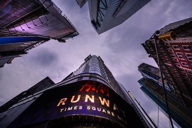 Broadway view - New York City - USA