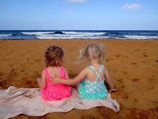2016 - Europe - Gozo - Beach Day - Beach Babies looking at Sea | by SeeJulesTravel