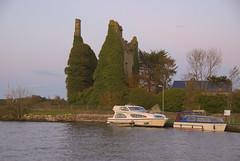 Dromineer Castle and Harbour, Lough Derg