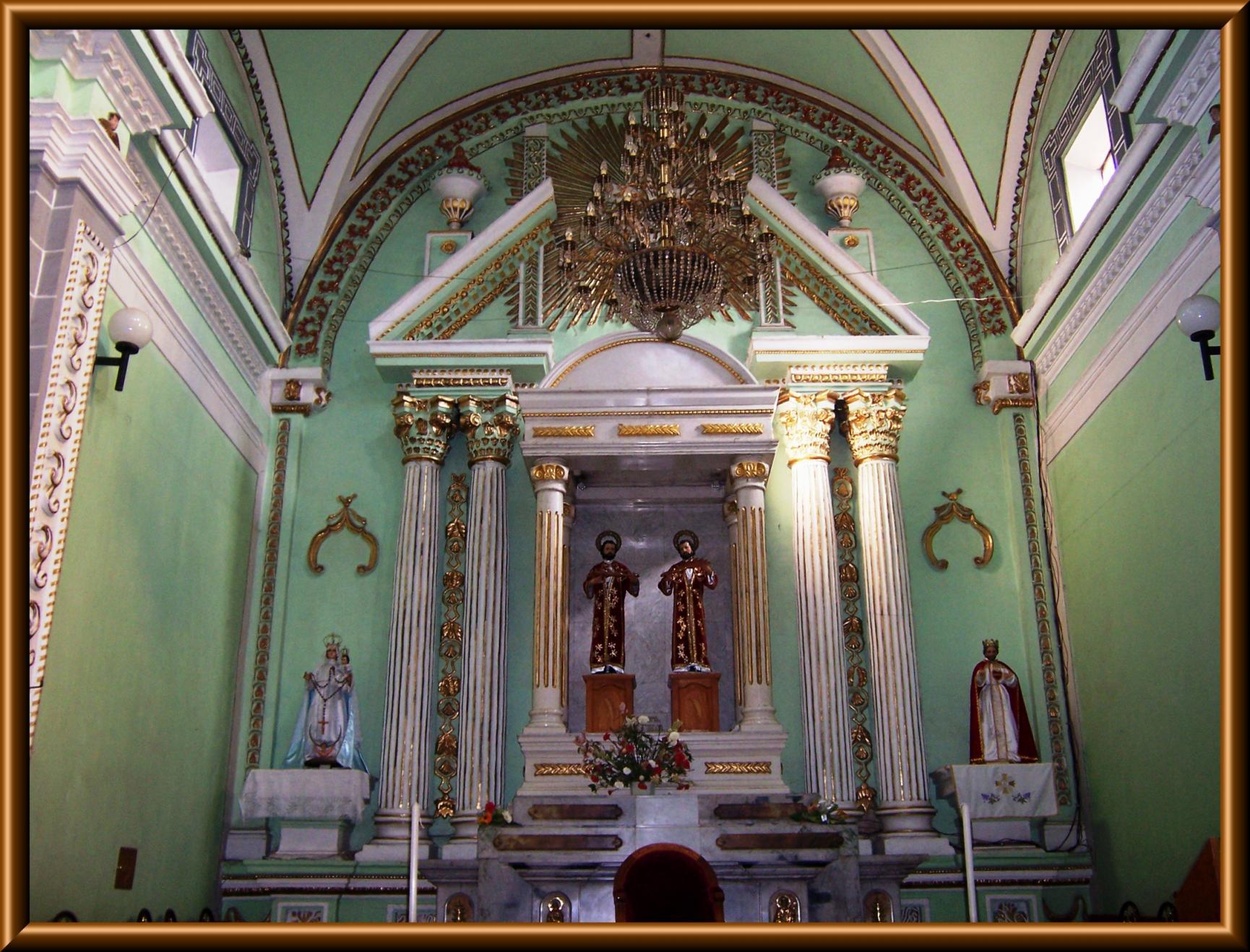 Fluidr Parroquia De Los Santos Cosme Y Damian San Cosme Xalostoc