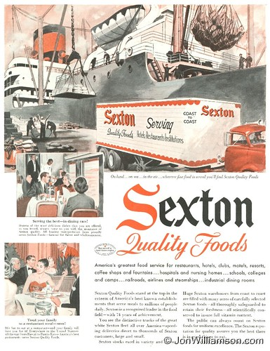 Sexton Quality Foods - 19570202 Post | by Jon Williamson