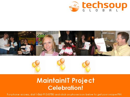 Celebrating MaintainIT Contributors!