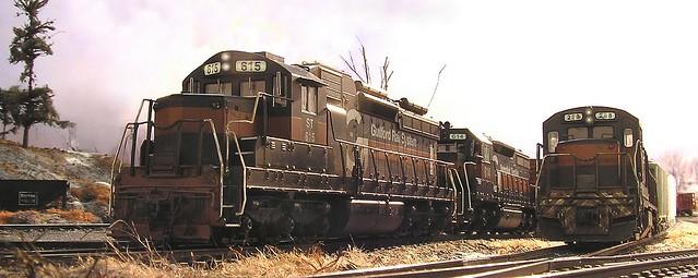 Guilford Rail Locomotives