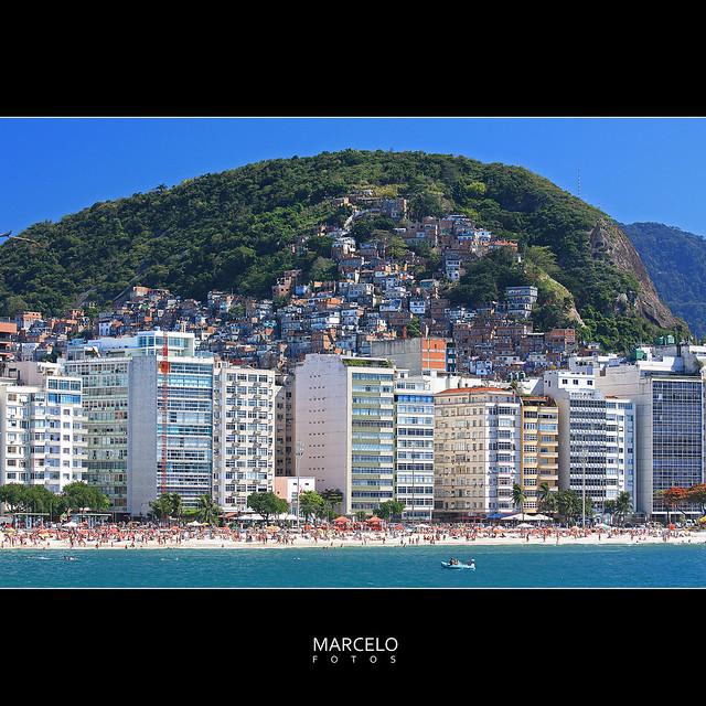 Copacabana II no Rio de Janeiro