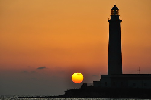 sunset sea lighthouse faro tramonto mare mywinners kartibubbo granitola regionalgeographicsicilia