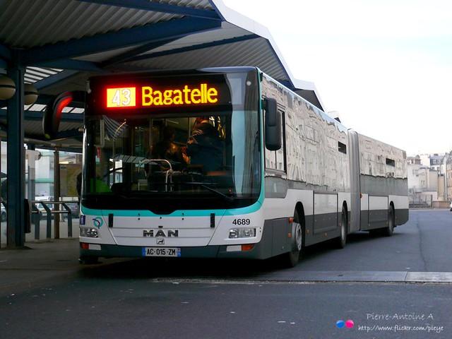 MAN Lion's City G A23 RATP n°4689