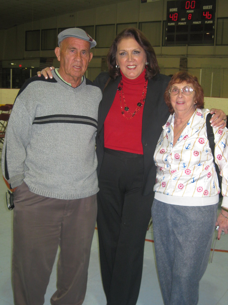 Roller Derby Veteran Skaters Lou Sanchez Margie Laszlo Flickr
