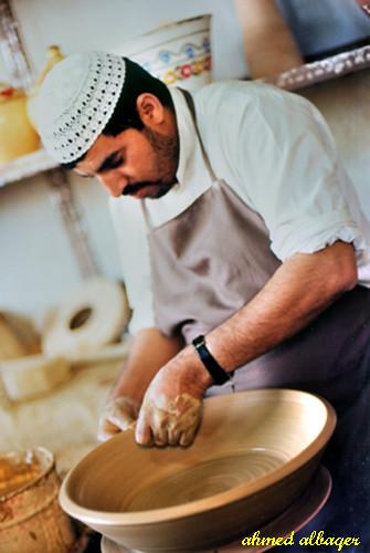 Pottery - Bahrain   صنـــاعة الفخــــار