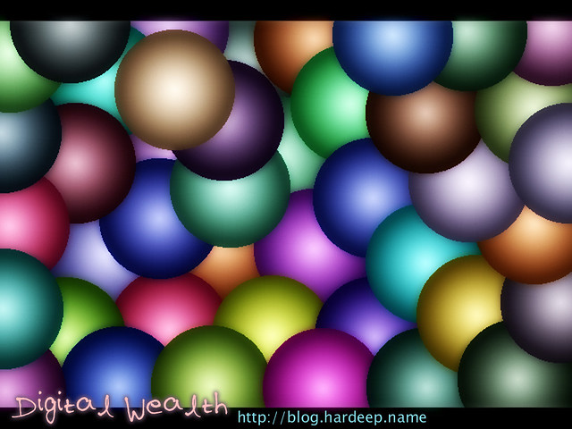 3D Ball Wallpaper