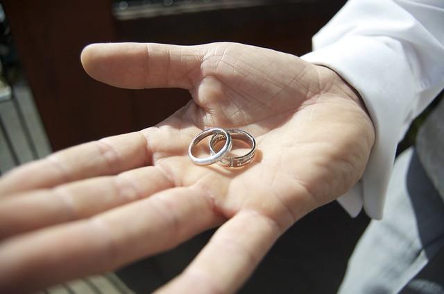 Wedding rings... ready