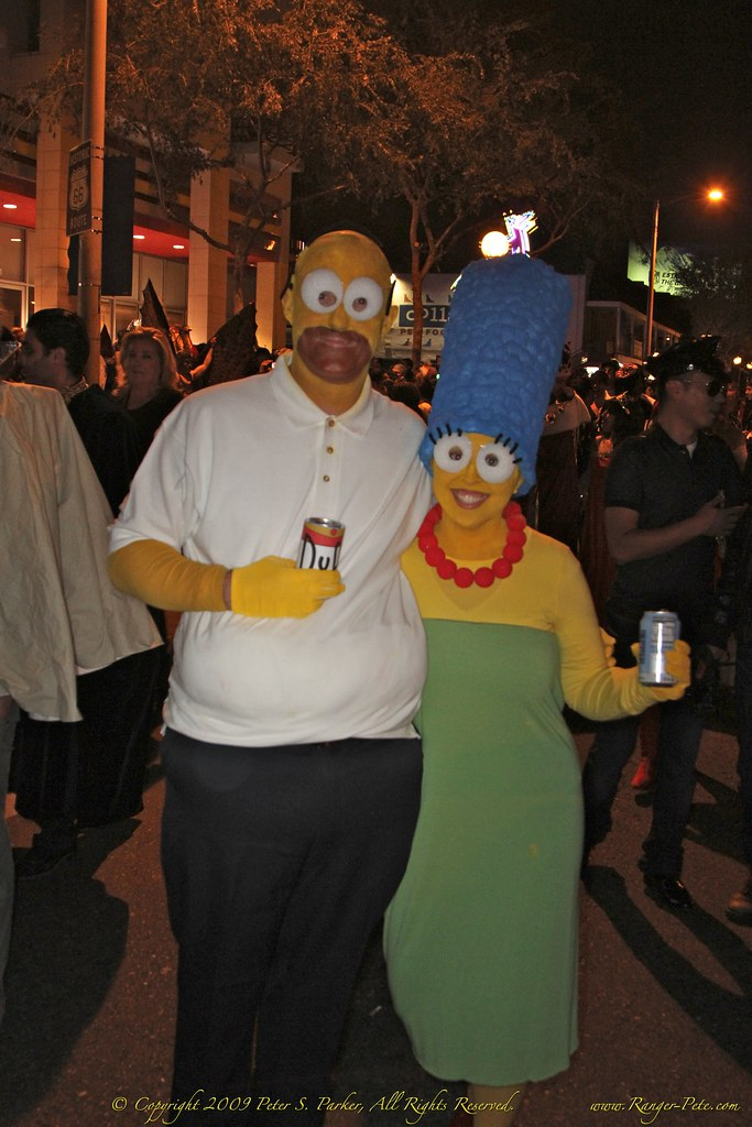 7D-IMG_0426-2 Marge & Homer Simpson Costumes