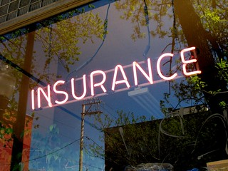 Neon Insurance Office Sign | by David Hilowitz