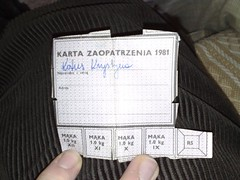 Rationing Ticket | by Buddhaah
