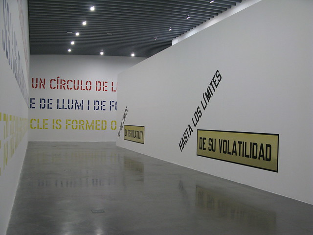 Lawrence Weiner, 'Under the Sun', Espai d'Art Contemporani Castelló