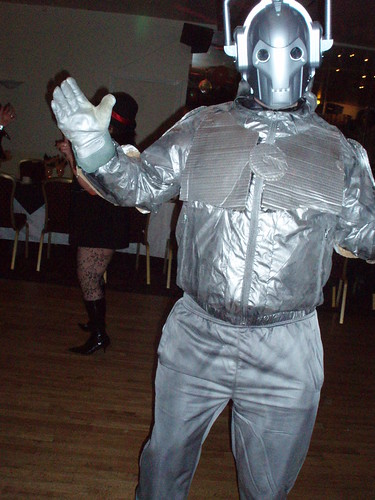 Cyberman 04 - Cyberman costume I built for a fancy dress par… - Flickr