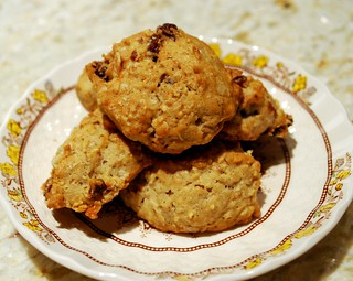 Oatmeal raisin cookies | by VintageVictuals