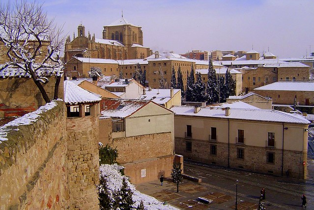 Salamanca... a saudade dói como um barco que aos poucos descreve um arco e evita atracar no cais