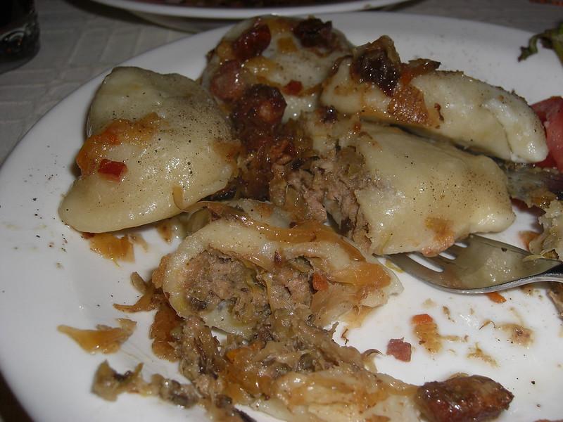 Pierogi - traditional Polish food