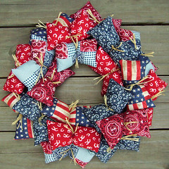 Americana Country Wreath | by julianabreeze