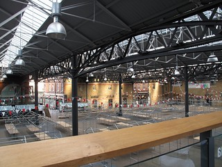 Empty Spitalfields Market | by avail