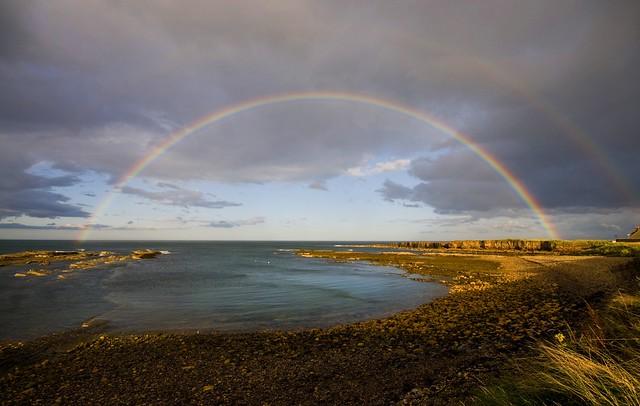 Rainbow,  Beadnell Northumberland.
