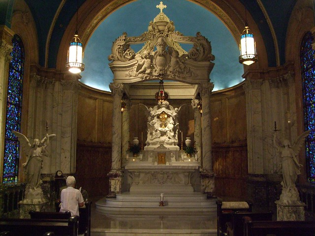 Adoration Chapel, St. Mary of the Woods, Shrine of St. Mother Theodore Guerin, Terre Haute, IN