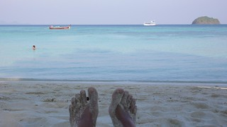 sunrise beach, ko lipe | by hopemeng